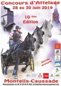 Affiches des Concours d'Attelage en Occitanie