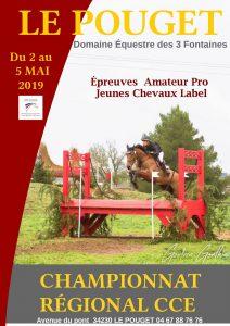 Championnat Régional Concours Complet du 2 au 5 mai