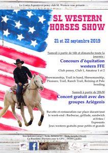 Concours Western 21 et 22 septembre à Gaudies (09)