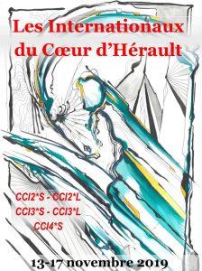 Les Internationaux du Coeur de l'Hérault du 13 au 17 novembre 2019